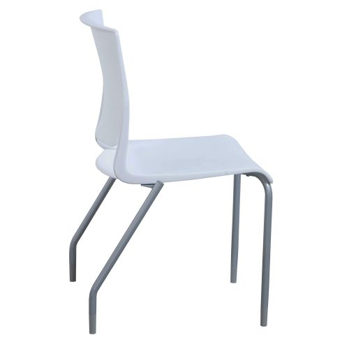 SitOnIt Rio Frost Stack Chair - Side