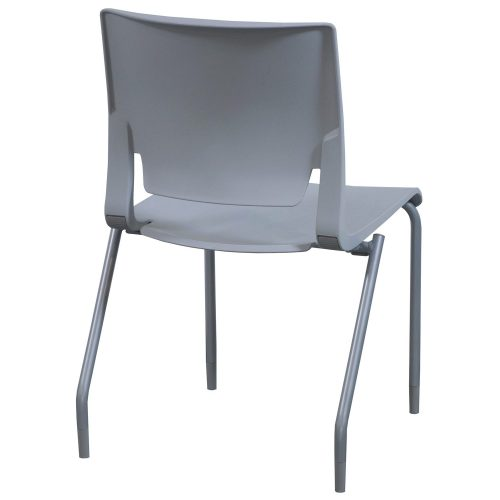SitOnIt Rio Sterling Stack Chair - Back