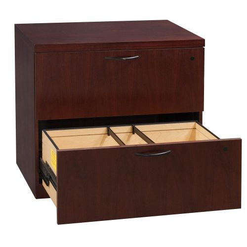 Steelcase Garland 2 Drawer Lateral File - Open