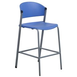 Teknion Zone Bar Stool in Blue