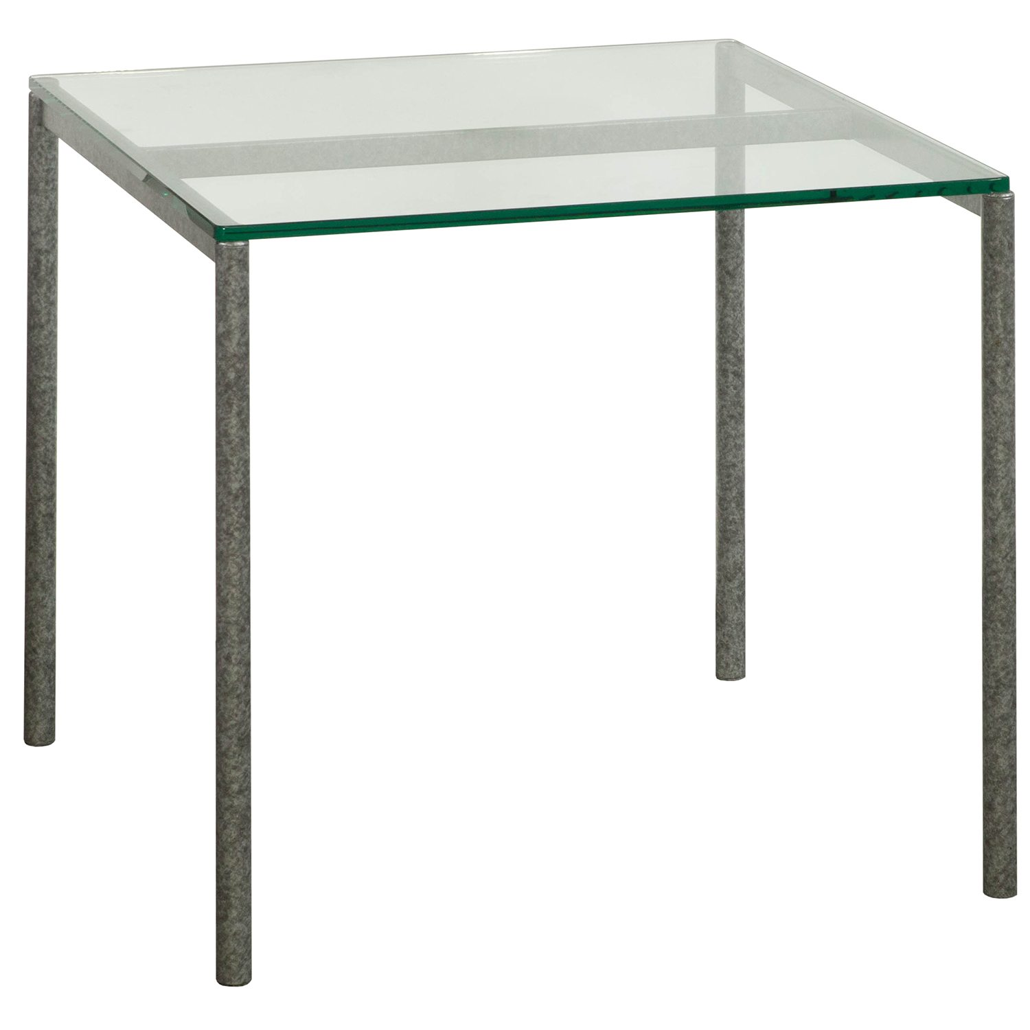 Beau Used 24×24 Inch Glass End Table