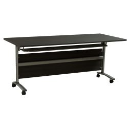 30x71 Inch Mobile Nesting Table in Gray