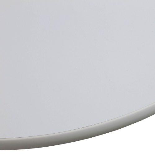 Corner Mobile Table Off White - Edge