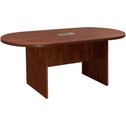 gotSIT Everyday Cherry 6 foot Conference Table with center Grommet