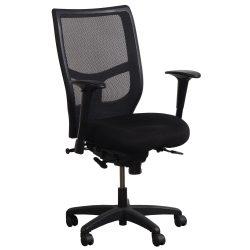 KI Impress Ultra Black Task Chair - Front