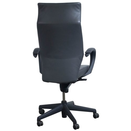 Keilhauer Tom High Back Executive Chair Gray - Back