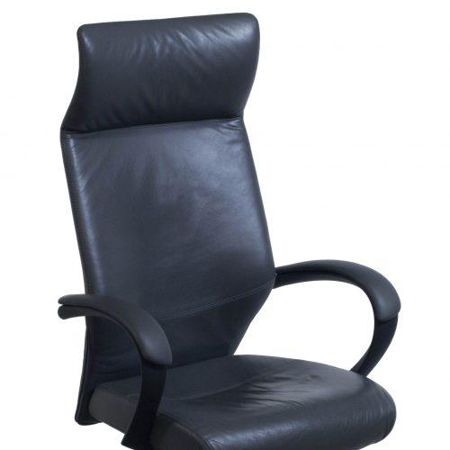 Keilhauer Tom High Back Executive Chair Gray - Arm