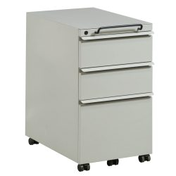 Knoll Box Box File Mobile Pedestal in Putty