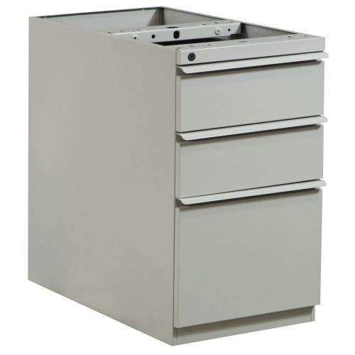 Knoll Box Box File Pedestal without Top in Putty