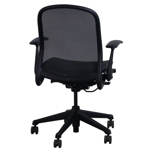 Knoll Chadwick Black Mesh Conference Chair - Back