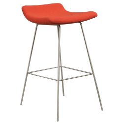 Martin Brattrud Capra Stool in Red - Front