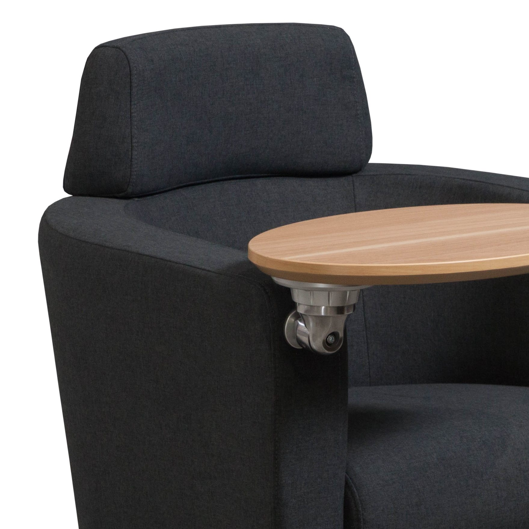 GoSIT Lounge Chair In Charcoal   Arm