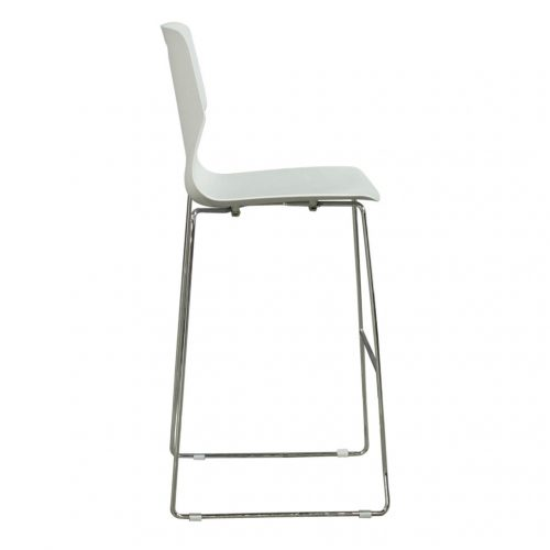 goSIT Peak Stool in Gray - Side