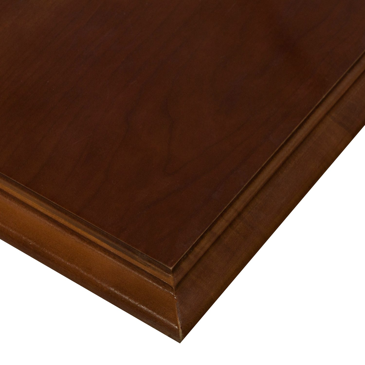 Veneer Used Ft Conference Table Medium Cherry National Office - Conference table grommet