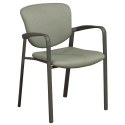 Haworth Improv Green Stack Chair - Front