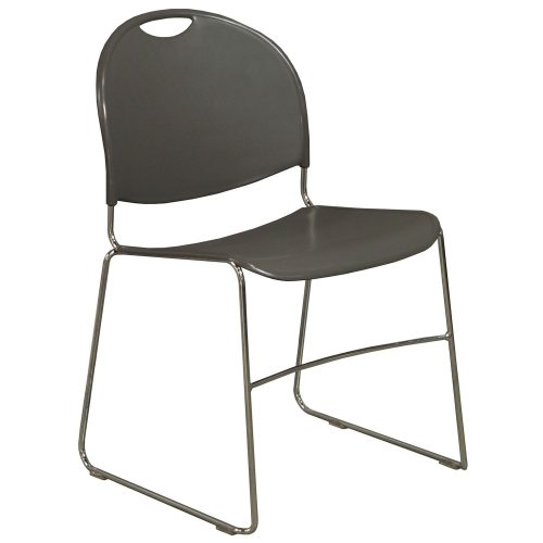Haworth System 12 Gray Stack Chair - Front