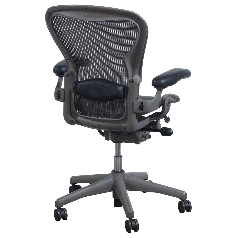 herman miller aeron used size c task chair lead national office interiors and liquidators. Black Bedroom Furniture Sets. Home Design Ideas