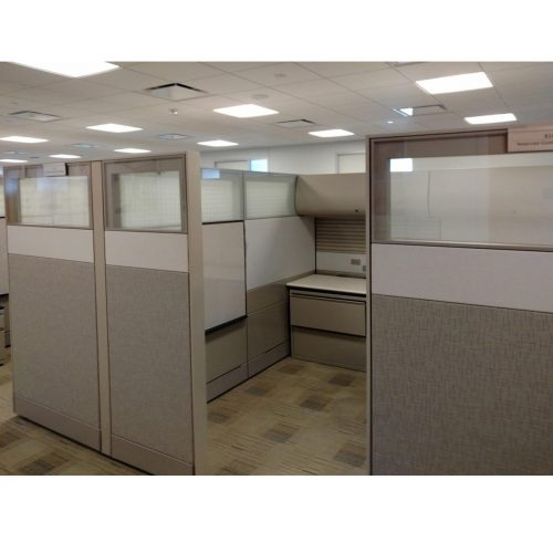 Herman Miller 8x8 Ethospace Cubicle - Outside View