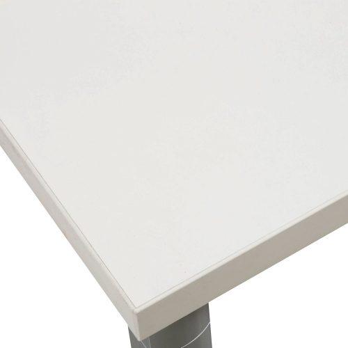 Herman MIller 30x60 Training Table in White - Corner