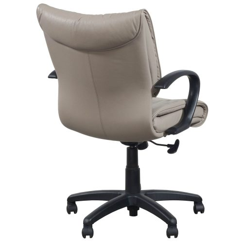 SitOnIt Glove Conference Chair in Tan - Back