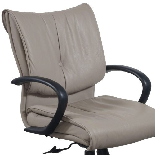 SitOnIt Glove Conference Chair in Tan - Arm