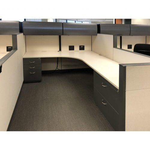 Steelcase Answer 6x8 Cubicle - Inside