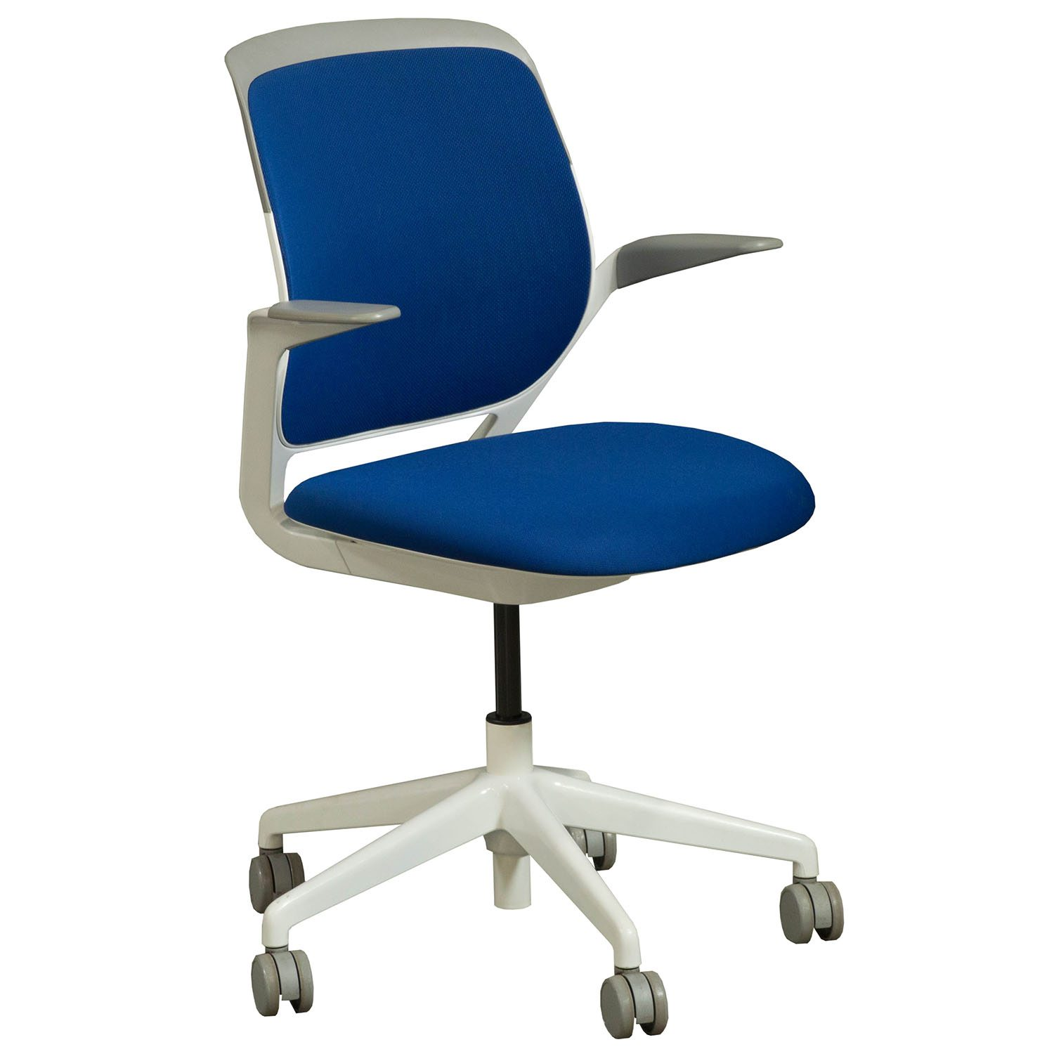 Steelcase Cobi Used Mesh Back Conference Chair Blue