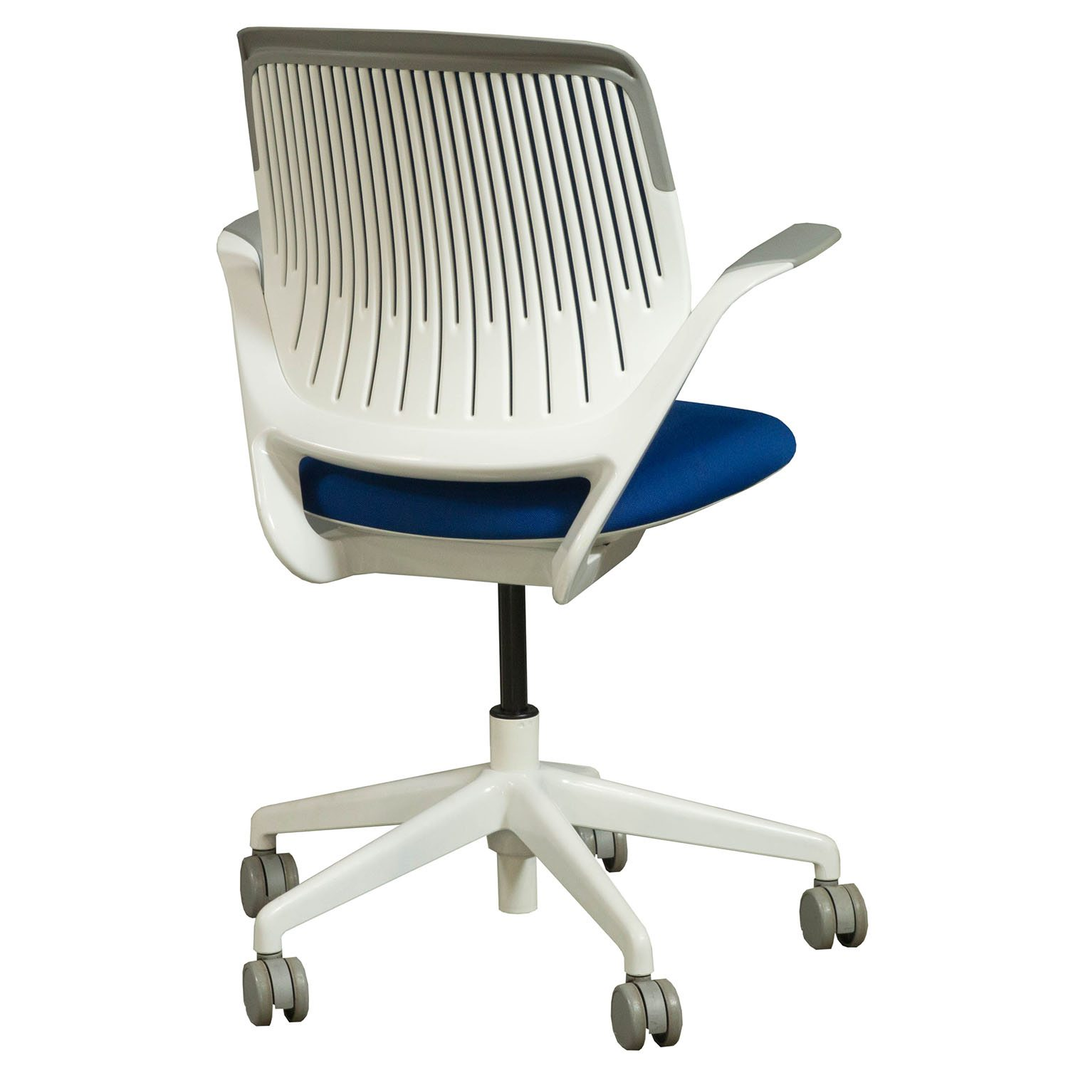 Steelcase Cobi Conference Chair In Blue  Back