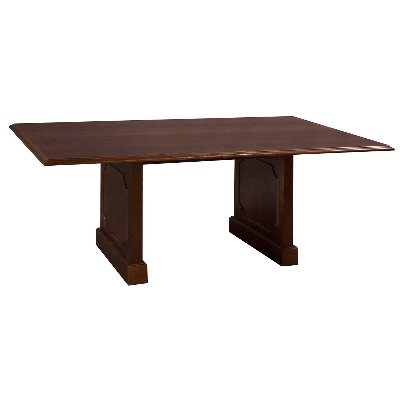 Veneer Used Ft Conference Table Medium Cherry National Office - Traditional conference table