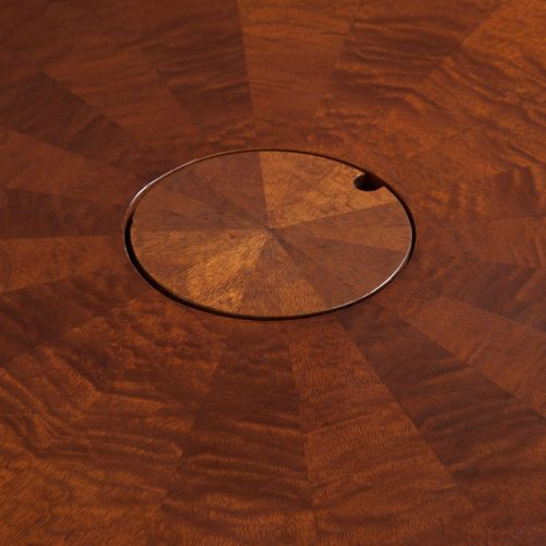 10ft Walnut Conference Table - Grommet Down