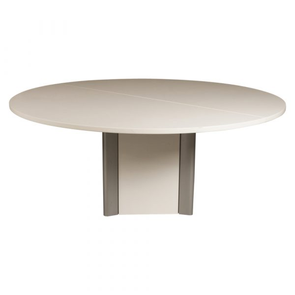 Inch Round Laminate Conference Table White National Office - 72 round conference table