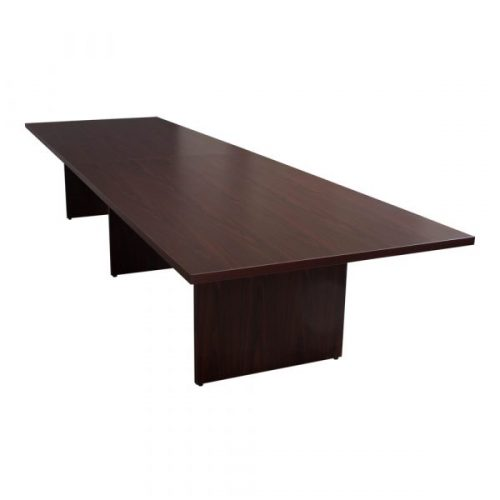 Everyday Mahogany Laminate Rectangle Conference Table