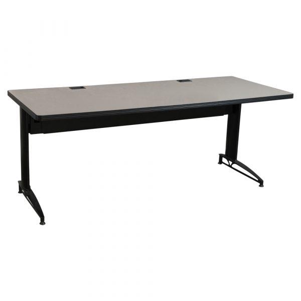 falcon used 30 72 laminate training table medium tone national office interiors and liquidators. Black Bedroom Furniture Sets. Home Design Ideas