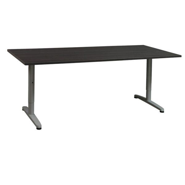 Ikea Galant Used 30x72 Adjustable Height Laminate Table, Gray