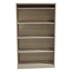 Hon Used 5 Shelf Metal Bookcase