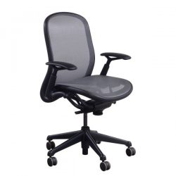 Knoll Chadwick Used Task Chair Silver Front View
