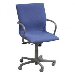 Steelcase Protege 433 Used Conference Chair Blueberry Front View