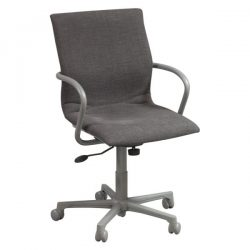 Steelcase Protege 433 Used Conference Chair Smoke Front View