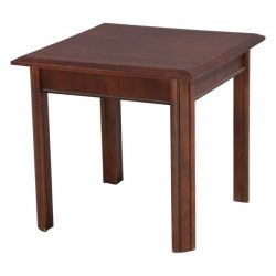 Veener 24 Inch Square Used End Table