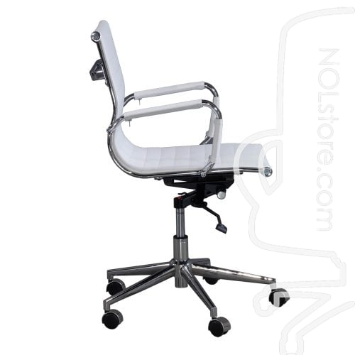 Cordelia by goSIT New Modern Executive Mid Back Chair White Side View