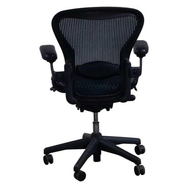 herman miller aeron used full function size b task chair tourmaline national office interiors. Black Bedroom Furniture Sets. Home Design Ideas