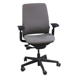 Steelcase Amia Used Task Chair Stone Front View