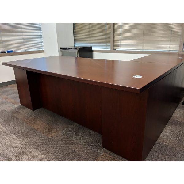 Teknion Volterra Used L-Shape Left Return Desk Set ...
