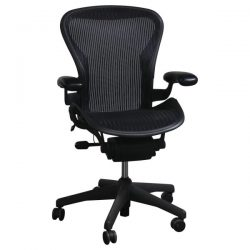 Herman Miller Aeron Used Size B Task Chair Carbon
