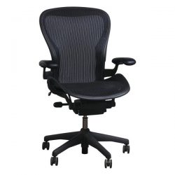 Herman Miller Aeron Used Size C Task Chair Carbon