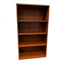 Teknion Used 4 Shelf 66 Inch Laminate Bookcase,