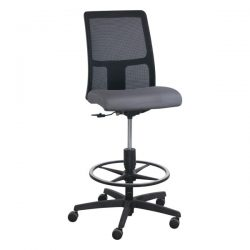 HON Ignition Series Black Mesh Mid-Back Stool