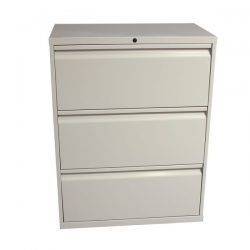 Knoll Calibre 3 Drawer Used 30 Inch Lateral File Putty
