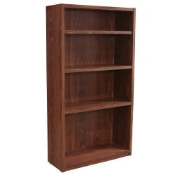 Laminate Used 36 Inch Bookcase, Oak