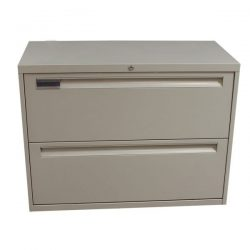 Steelcase Used 2 Drawer 36 Inch Lateral File Putty
